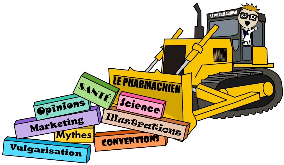 Le Pharmachien = passer un bulldozer dans les conventions en sciences