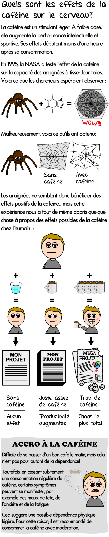Effet de la Caféine sur le TDAH